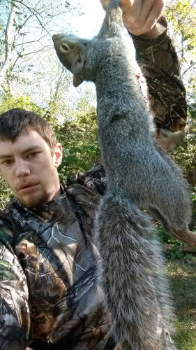 First squirrel of 2018 season